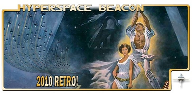 Hyperspace Beacon: 2010 Retro!