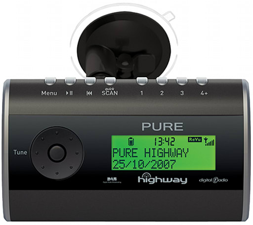 Pure Digital intros Highway in-car DAB radio