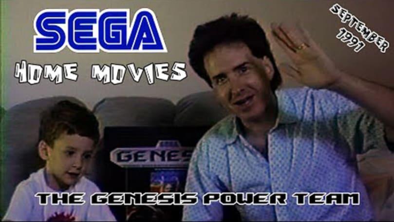 Son remembers his Sega-loving father in tribute video
