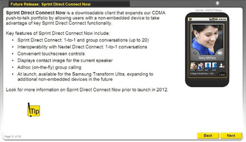 Leaked Sprint memo reveals upcoming Direct Connect Now app for Android