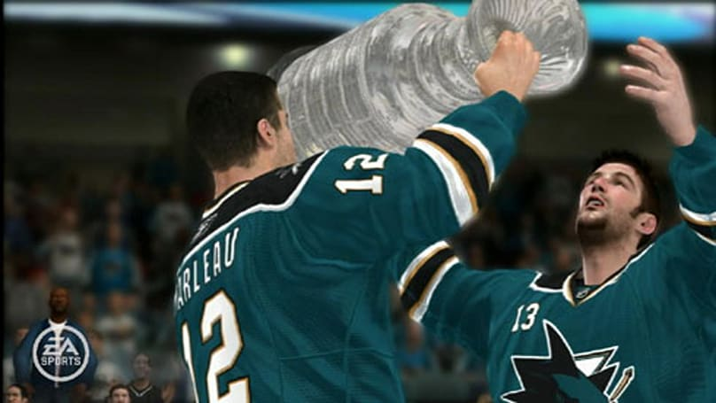 EA Sports predicts Sharks as Stanley Cup champs
