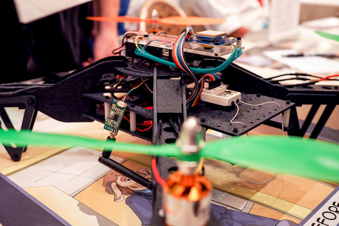 This drone can steal data while hovering above your office