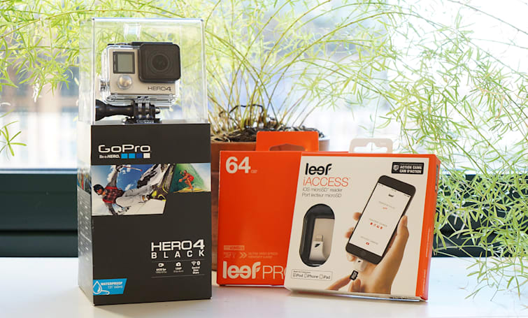 Engadget giveaway: Win a GoPro Hero4 Black courtesy of Leef!