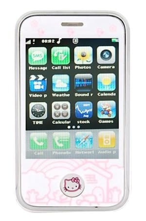 Keepin' it real fake, part CCXXIV: Hello Kitty Phone 3G is our next impulse buy