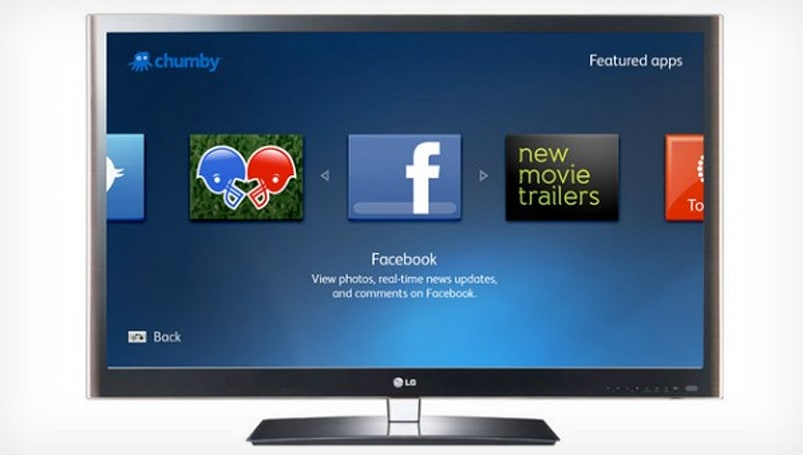 Chumby brings app network to LG Smart TV platform, more living rooms