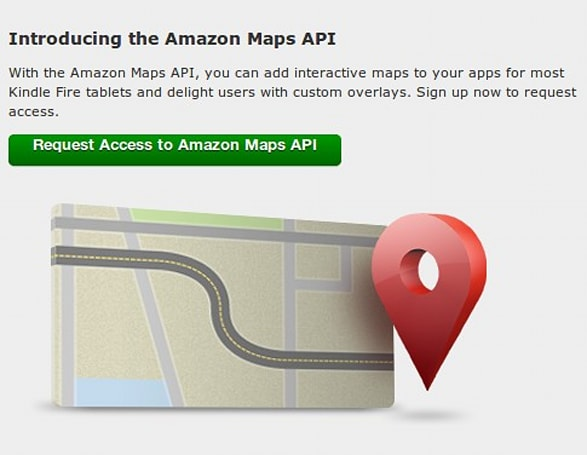 Amazon takes Maps API out of beta, cautiously steps out of Google's shadow