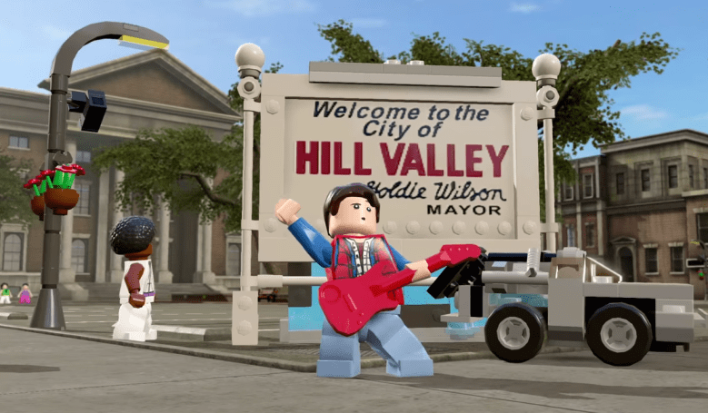 'Lego Dimensions' reunites the original 'Back to the Future' cast