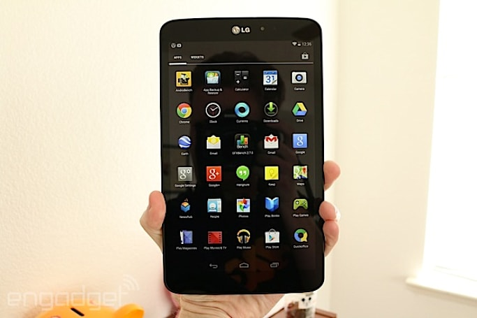 LG G Pad 8.3 Google Play edition hands-on