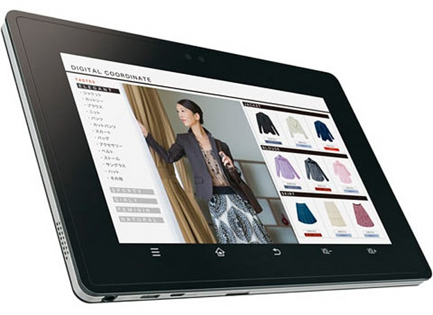 Sharp RW-T107 Android tablet packs NFC reader, will accept payments in Japan