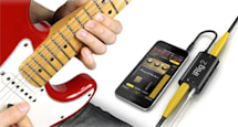 The iRig 2 wants to replace your guitar pedal board with a phone