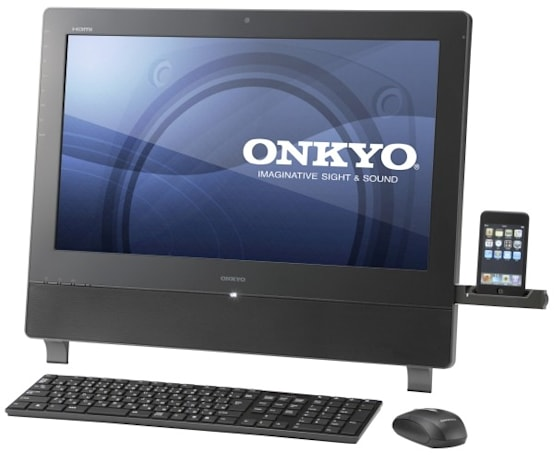 Onkyo's E713 all-in-one PC is the space station to your starfaring iPod
