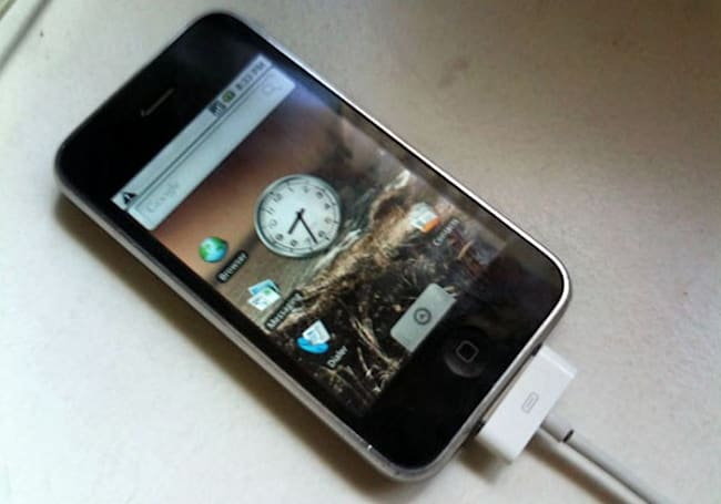 iPhone 3G gets an Android port to call its own (video)