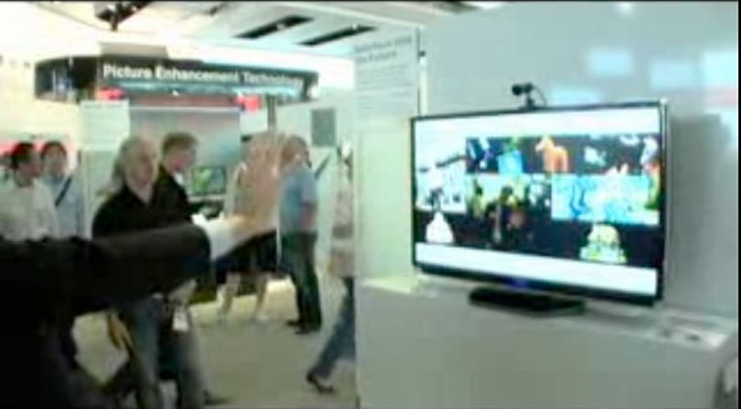 Video: Toshiba's gesture control coming to its cell-based TVs?