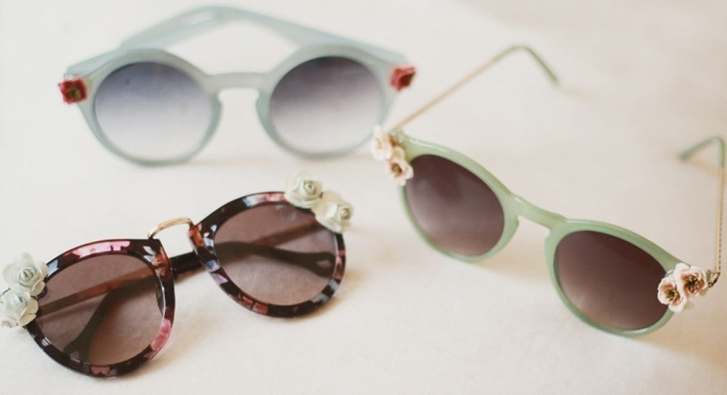 In Full Bloom: DIY Floral Sunglasses