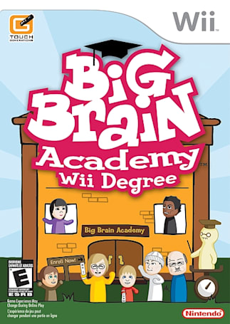 New games this week: Big Brain Academy: Wii Degree edition