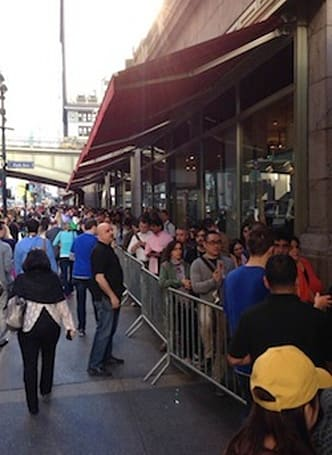 iPhone 5s first-person shopper report