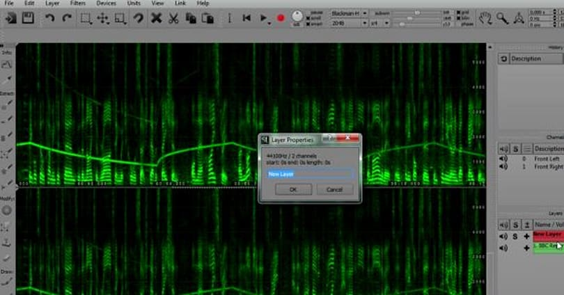 Spectral Layers takes a cue from Photoshop, offers visual audio editing