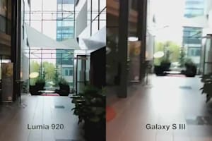 Galaxy S III and Nokia Lumia 920 Face Off With Image Stabilization Test