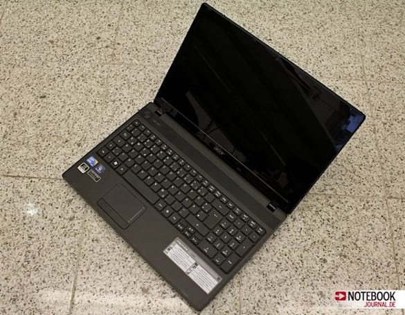 Acer Aspire 5742G laptop with NVIDIA GeForce GT 540M graphics reviewed, es ist schnell