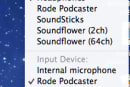 Mac 101: quickly change volume input, output