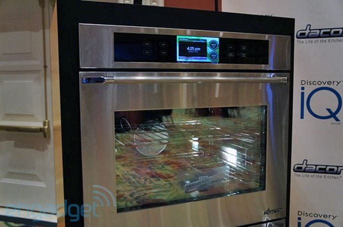 Dacor's Android oven packs 1GHz processor, 7-inch screen, heat (hands-on)