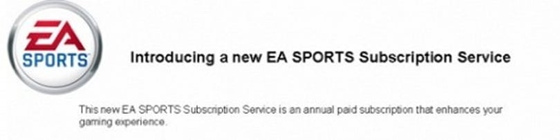 Rumor: EA's persistent profile service is subscription-based, offers early game downloads