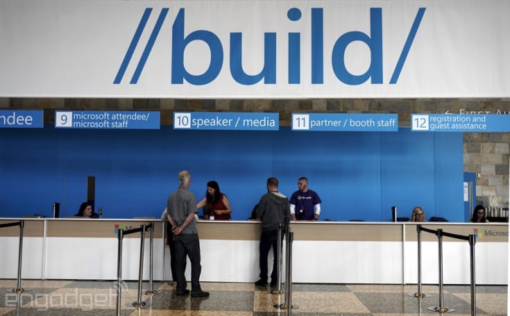 We're live at Microsoft's Build 2015 keynote