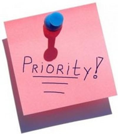 Breakfast topic: Your priority list