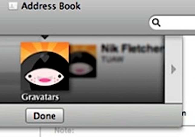 Liven up Address Book with Avatars