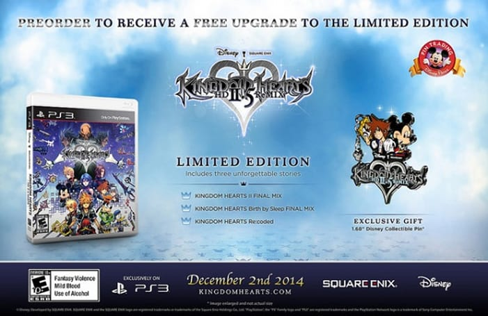 Stick a pin in your Kingdom Hearts 2.5 HD Remix pre-order