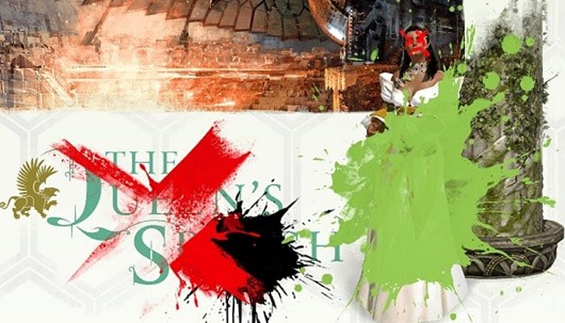 Release page for Guild Wars 2's upcoming patch vandalized by marauding villain