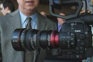 Canon Cinema EOS C500 Hands-On