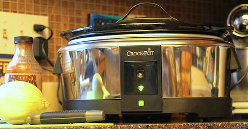 Crock-Pot Smart Slow Cooker: iPhone control of a kitchen classic
