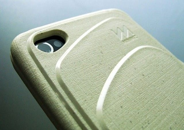 Eco-friendly iPhone case made from trash