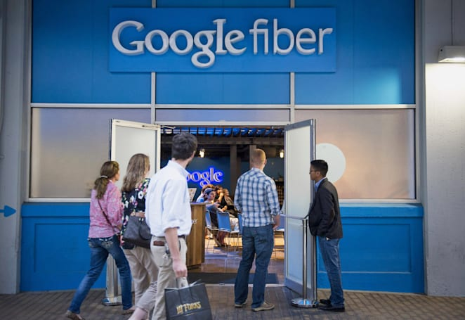 Google is offering home phone service to select Fiber customers