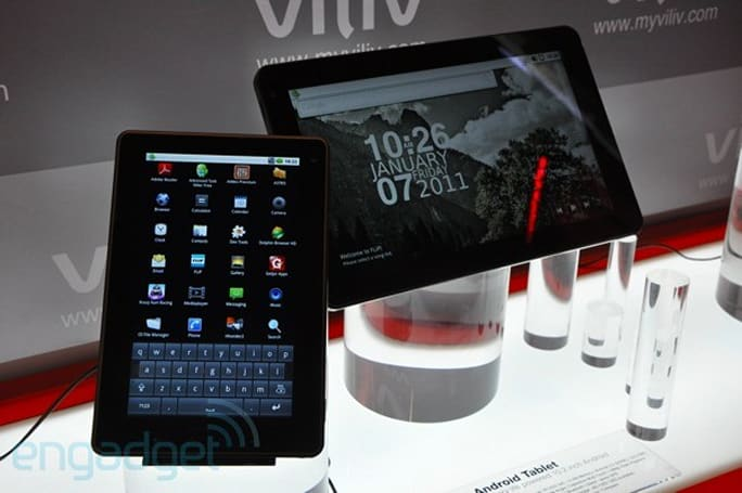 Viliv X7 and X10 Android tablets hands-on