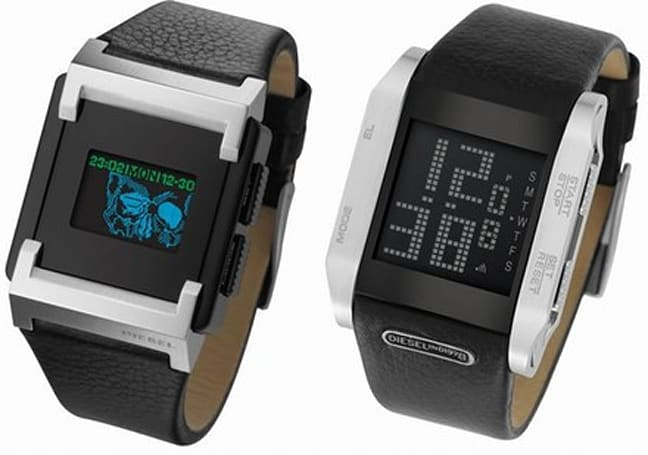 Diesel looses two more OLED wristwatches