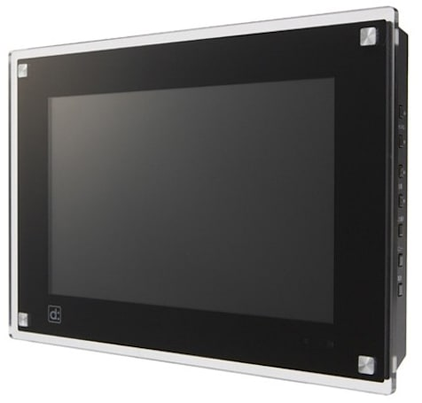 The byd:sign digital photo frame with 1Seg: like a TV, but way, way smaller