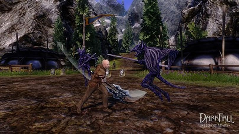 New Darkfall dev diary vid talks art direction, Unholy Wars changes