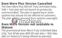 T-Mobile cancels Even More Plus unlimited plan on eve of launch?