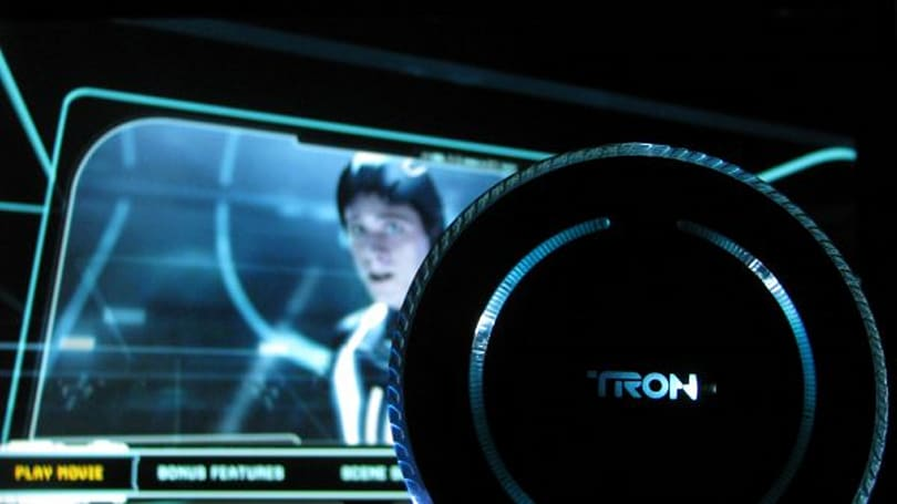 Tron: Legacy Blu-ray 3D review and Second Screen hands-on