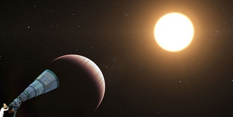 Infrared telescope can pick out the atmosphere on distant planets, smell what the aliens are smelling