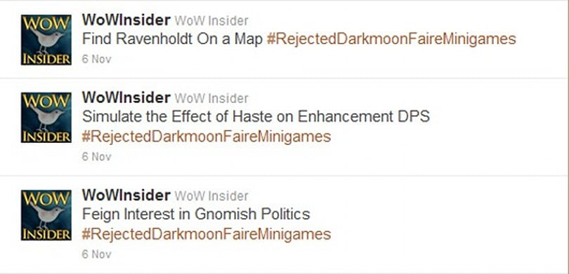 Be thankful you don't have to play these Rejected Darkmoon Faire Minigames