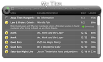 Widget Watch: Showcase your TiVo's content on your Mac