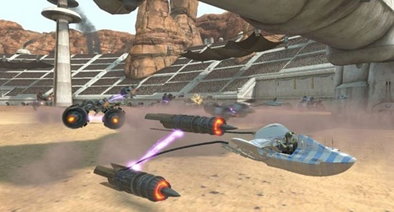 Kinect Star Wars preview: Pod (racing) people