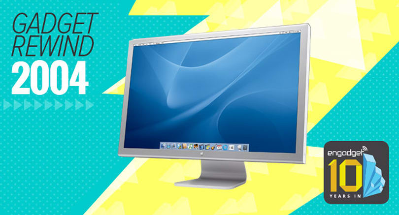 Gadget Rewind 2004: Apple Cinema HD display (30-inch)