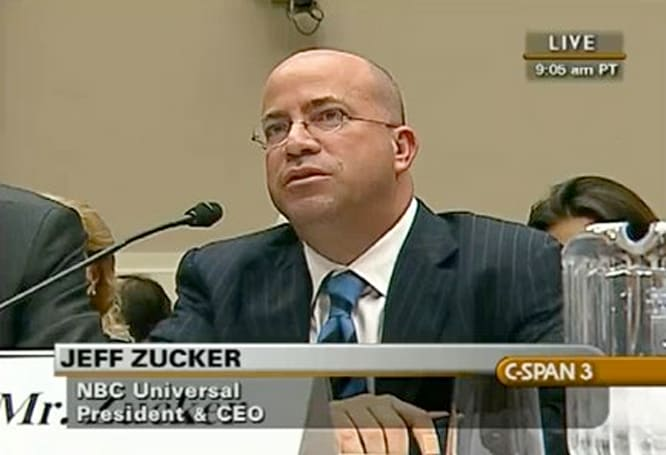 NBC's Jeff Zucker talks about Boxee with congress, Boxee talks about The Facts with Jeff Zucker