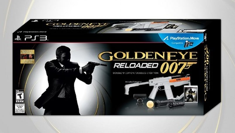 GoldenEye 007: Reloaded gets special Move bundle for PS3