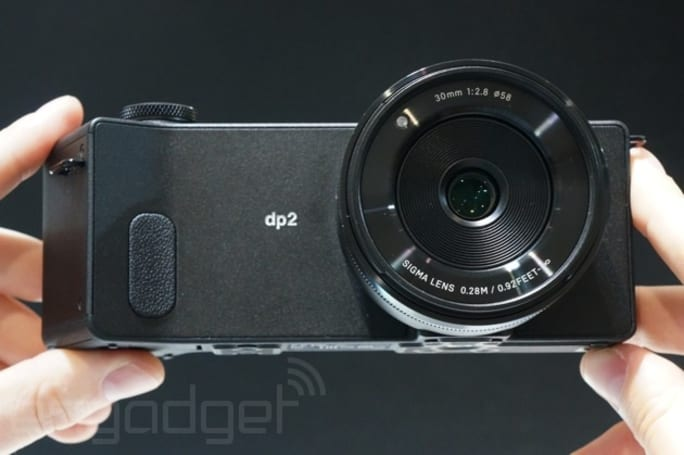 Sigma's CEO wants you to focus on the dp2 Quattro's new sensor, not its peculiar design