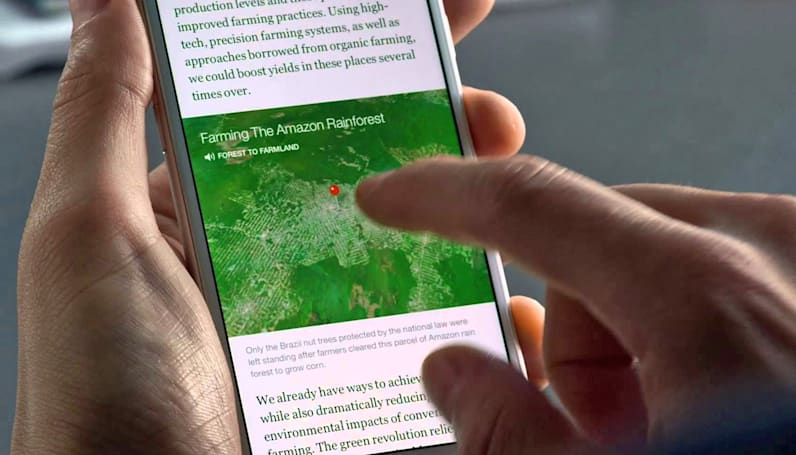 Facebook's Instant Articles arrive on Android